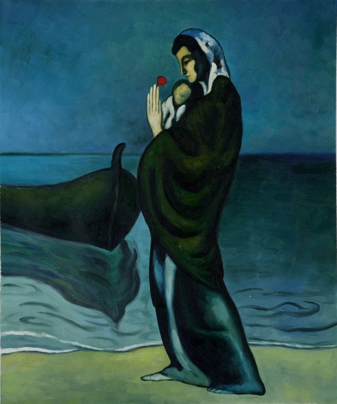 Maternity_by_the_Sea_Pablo_Picasso