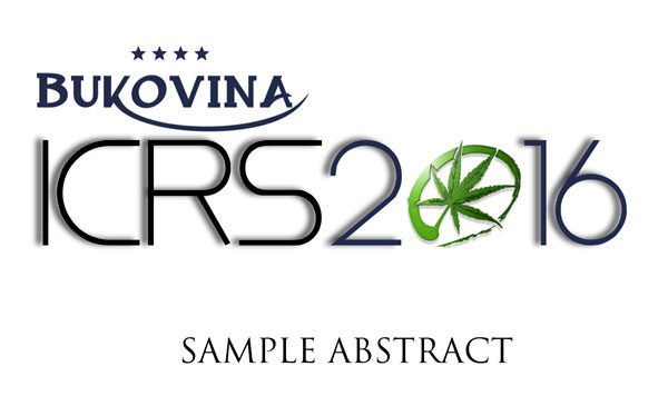 ICRS2016.SAMPLE.ABSTRACT.HEADER